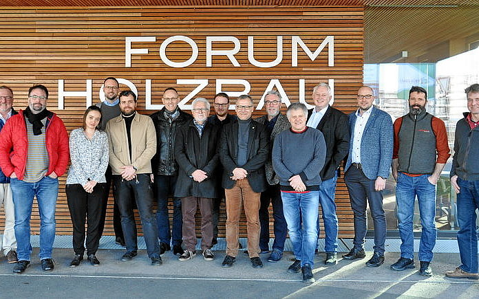 Die Projektpartner beim Kick-off-Meeting Ende 2019.